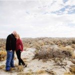 Antelope Island Utah Engagements   Brittany + Ben