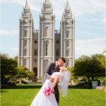 Salt Lake Temple | Willow Creek Country Club Wedding | Ashley + Garrett