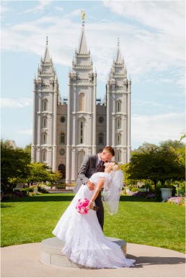 salt lake temple wedding by terra cooper