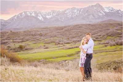 mountain engagement session by terra cooper