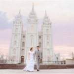 Salt Lake Temple Wedding Preshoot | Terra Cooper Photography | Ashlee + Damian