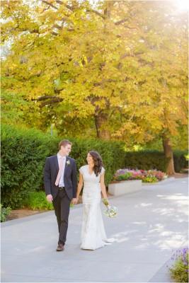 Salt Lake Temple Wedding by Terra Cooper Wedding Photographer