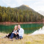 Tibble Fork Utah Engagements | Terra Cooper Wedding Photographer | Carli + Paul