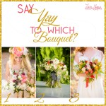 Say YAY! to which bouquet? | Thanksgiving Point Florist Linda Winnie | Terra Cooper Wedding Photographer