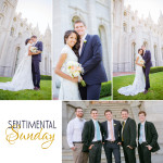 Sentimental Sunday | Salt Lake Temple | Francesca & Fano