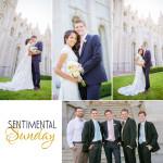 Sentimental Sunday | Salt Lake Temple | Francesca & Fano