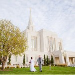 Ogden Utah Temple Preshoot | Terra Cooper Photography | Marisa + James