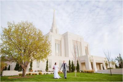 Ogden Temple Wedding Photographer