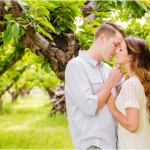 Utah Orchard Engagements | Terra Cooper Photography | Jentry +Adam