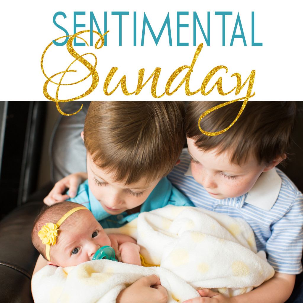 Sentimental Sunday Mother's Day