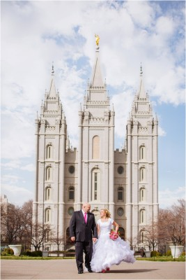 Salt Lake Temple Wedding Chantilly Mansion by Terra Cooper