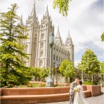 Salt Lake Temple | Thanksgiving Point Wedding | Erika + Caden