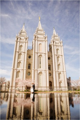 Salt Lake Temple wedding by Terra Cooper Photography