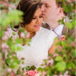 Salt Lake Temple | Heritage Gardens Wedding | Anny + Ben
