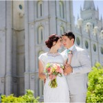 Salt Lake Temple | Eldredge Manor Wedding | Kimmie + Isaac