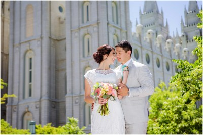 Salt Lake Temple Eldredge Manor Wedding Terra Cooper Photography
