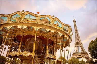 la tour eiffel Carousel terra cooper photography car