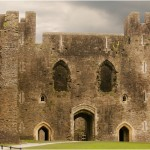 Caerphilly Castle Wales | Terra Cooper Photography