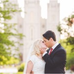 Salt Lake Temple Formals | Utah Wedding Photographer | Leslie + Spencer