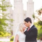 Salt Lake Temple Formals | Utah Wedding Photographer | Leslie + Spencer