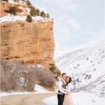 Red Rock Winter Snow Engagements | Terra Cooper Photography | Cecilia + Logan