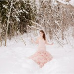 Utah Winter Mountain Bridals | Terra Cooper Photography | Katelyn