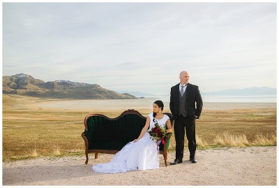 Antelope Island Bridals Formals Terra Cooper Photography