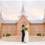 Provo City Center Temple Garden Wedding | Terra Cooper Photography | Amanda + Todd