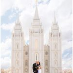 Salt Lake Temple | Eaglewood Golf Course Wedding | Terra Cooper Photography | Kenya + Mark