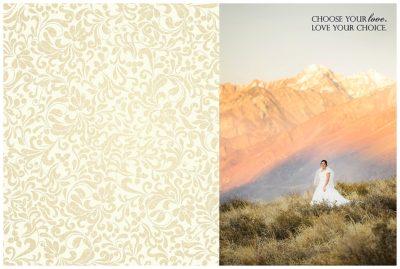 wedding guest book terra cooper photography