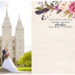Utah Wedding Photographer | Wedding Guest Book | Daisha + John