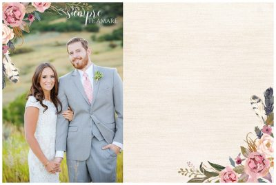 utah wedding guest book
