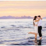 Salt Lake City Soltaire Beach Engagements | Terra Cooper Photography | Crystal + Brendan