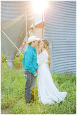 rustic barn mountain utah engagements