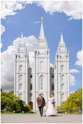 salt lake temple wedding terra cooper