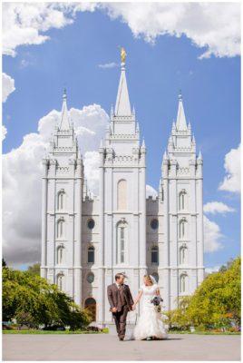 salt lake temple wedding terra cooper