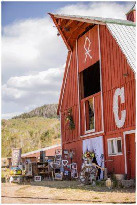 country rustic chic barn utah wedding
