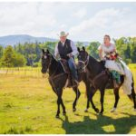 Rustic Country Mountain Wedding | Ring Ceremony | Sage + Parker | Part 3
