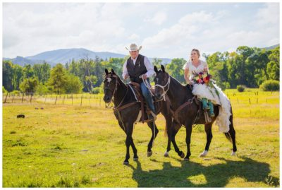 mountain rustic country wedding