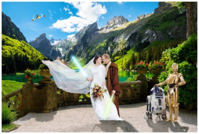 star wars themed wedding pictures terra cooper photography