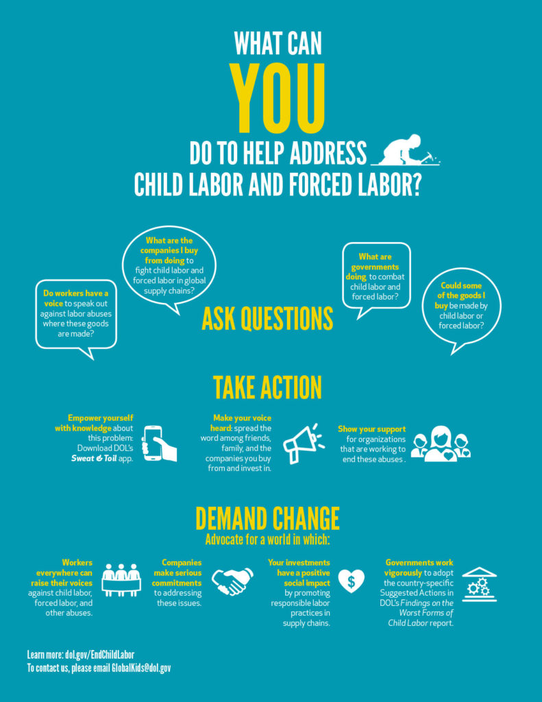 ending child labor and forced labor