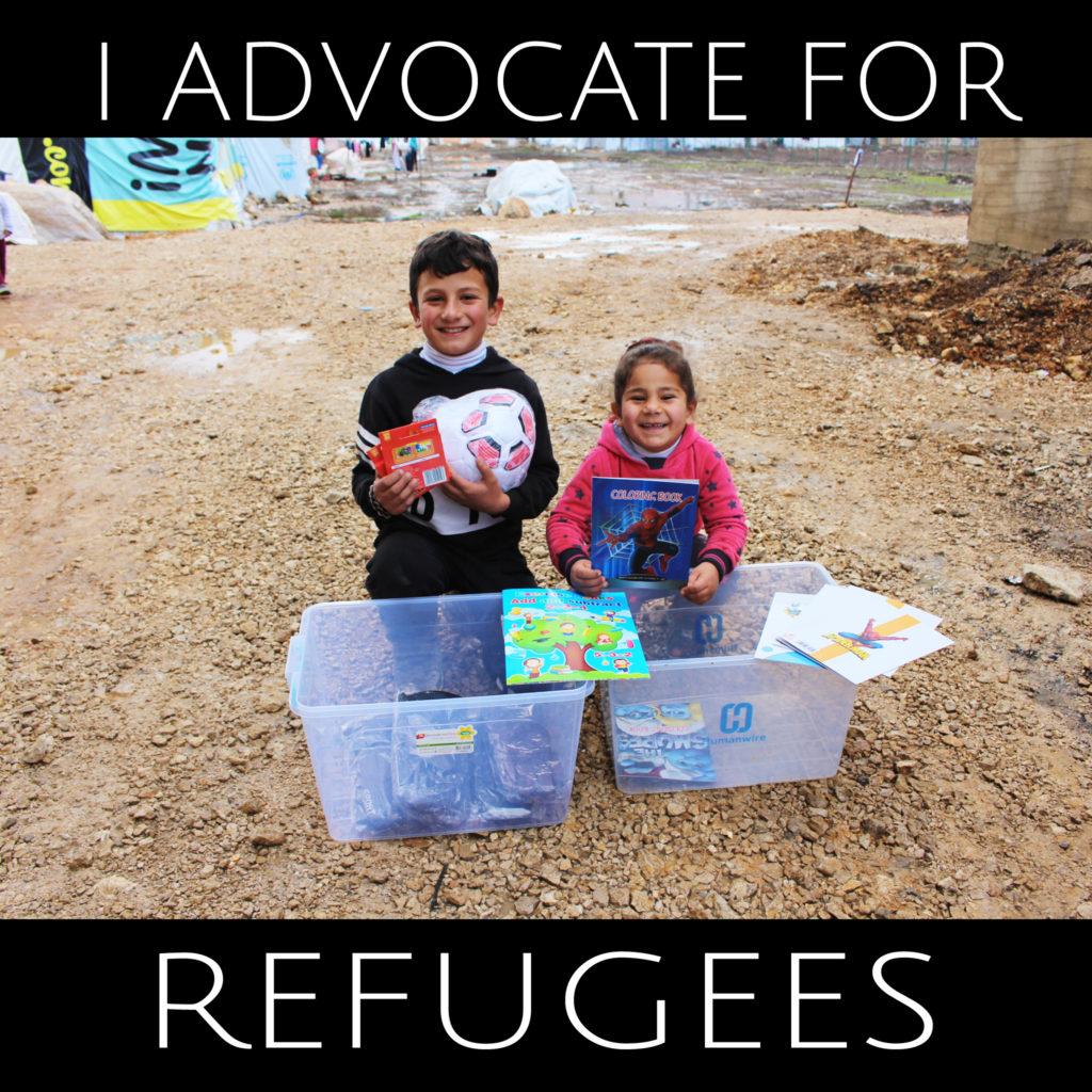 humanwire refugee aid