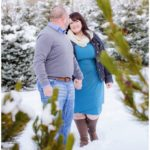 Utah Winter Mountain Engagements | Terra Cooper Photography | Kathrin + Jody
