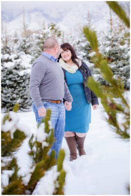 utah winter engagements