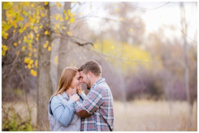 utah fall mountain engagements
