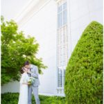 Bountiful Utah Temple Wedding | Terra Cooper Photography | Madison + Zach