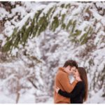 Utah Winter Cabin Engagements | Terra Cooper Photography | Alex + Griffin