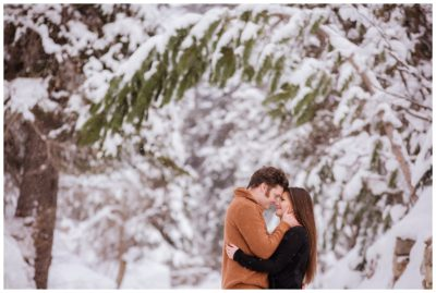 utah snow mountain cabin engagements sundance