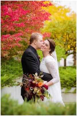 bountiful temple eaglewood utah wedding