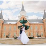 Provo City Center Temple Utah Wedding | Terra Cooper Photography | Catherine + James